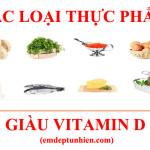 20 Loại Thực Phẩm Giàu Vitamin D Cho Gia Đình Bạn