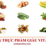 Tổng Hợp 20 Loại Thực Phẩm Giàu Vitamin E Tốt Cho Sức Khỏe