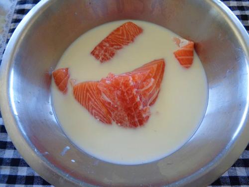 Cách làm ruốc cá hồi