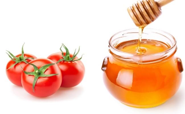 Mật ong và cà chua trị nám da hiệu quả
