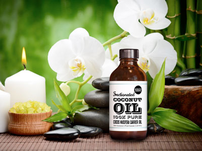 Serum dưỡng da từ dầu dừa