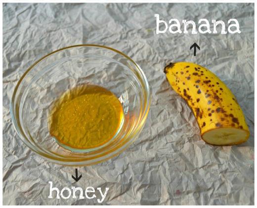 mặt nạ chuối mật ong