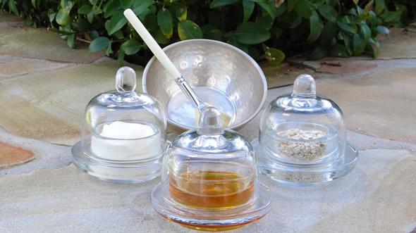 Mặt nạ yến mạch, sữa chua, mật ong