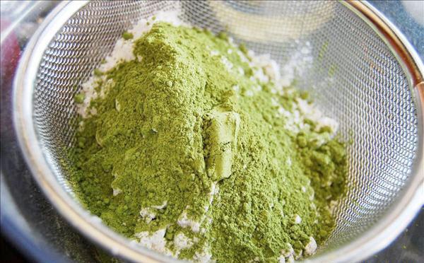 Cách làm bánh kem trà xanh