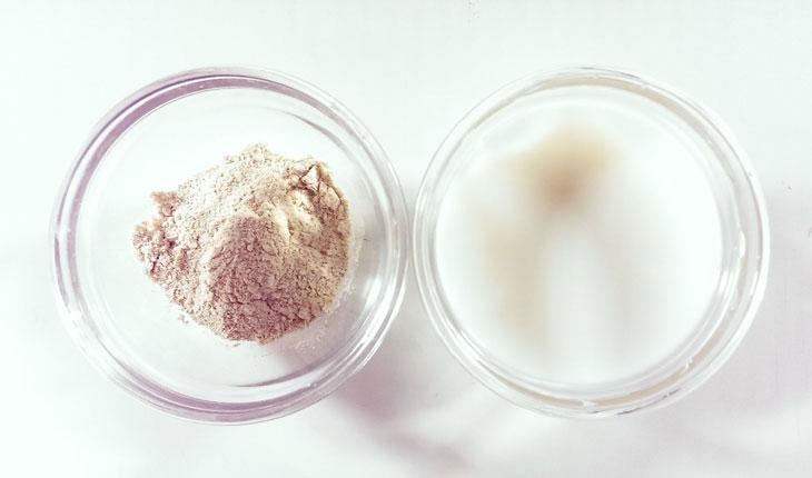 Mặt nạ Bột gạo – sữa tươi không đường