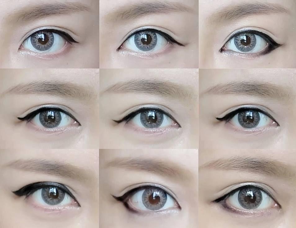 Có rất nhiều cách kẻ mắt nước khác nhau