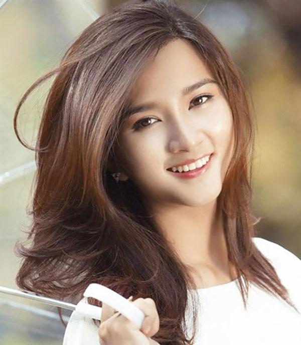 Màu tóc chocolate ngọt ngào