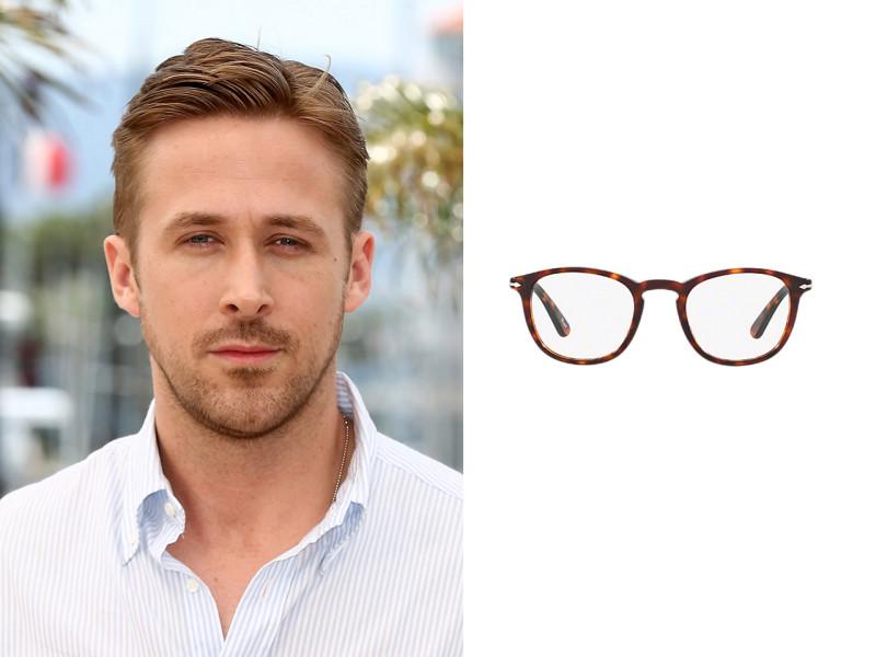 Chọn kính cho gương mặt V-line với quý ông Ryan Gosling