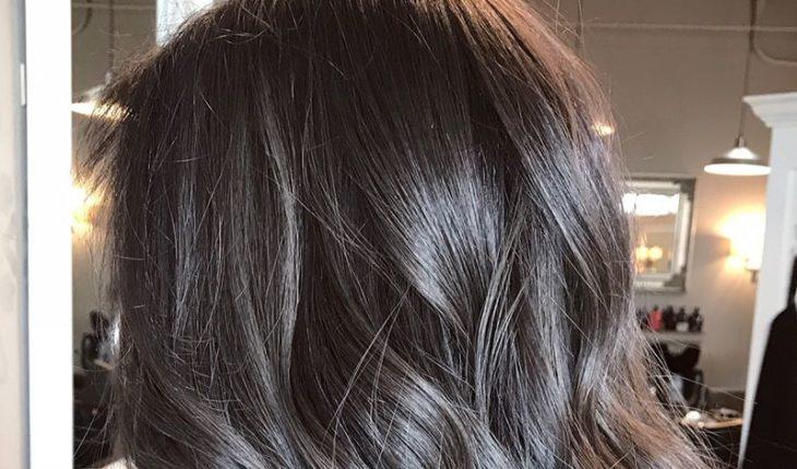 Cách nhuộm tóc màu than chì