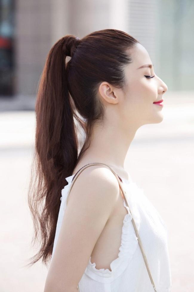 Người cao nên để tóc gì? Chính là kiểu tóc đuôi ngựa này bạn nhé!