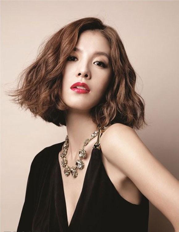 Kiểu tóc này thu hút rất nhiều cô nàng châu Á gợi cảm