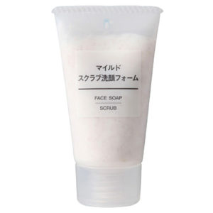 Muji the face scrub