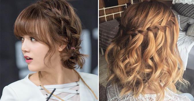 Kiểu tóc tết đáng yêu sẽ giúp nàng một mí thêm phần nổi bật và tự tin