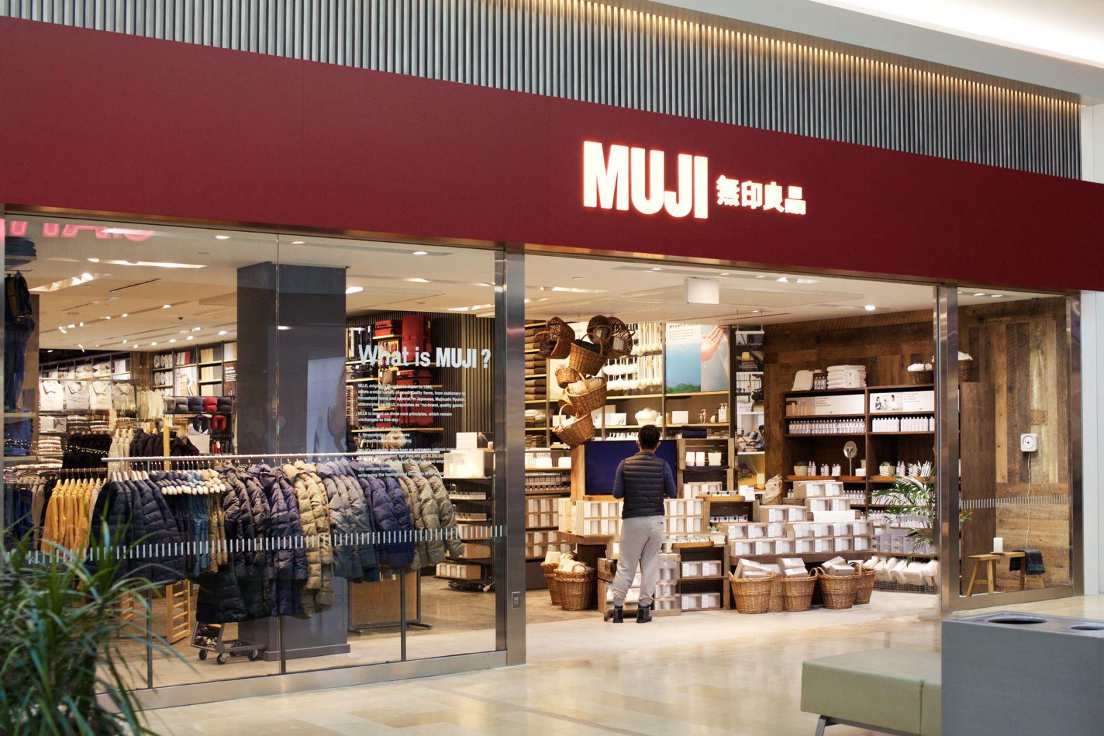 Cửa hàng Muji tại Nhật Bản